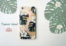 ALOHA! Tropical Island Etui silikonowe z motywem tropikalnym do ponad 500 modeli telefonów!