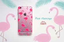 ALOHA! Pink Flamingo Silikonowe etui z tropikalnej kolekcji Aloha! Hit sprzedaży na zatrzymanie letnich wspomnień do ponad 500 modeli telefonów! :)