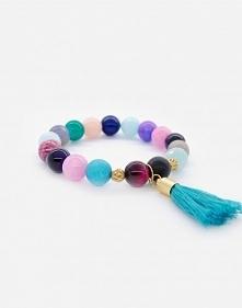 Kolorowe bransoletki - mix kamieni naturalnych - lafant.pl <3  Kliknij w zdjęcie i zobacz więcej :)