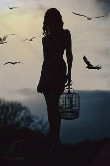 Wolność jest piękna.. klatki mogą być metaforyczne i prawdziwe czyż nie? Obie niewolą tak samo. Niewolnictwo nie umarło. Czy je widzisz? Czy wzbudza to w tobie emocje? Czy to no...
