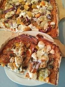 Domowa pizza! Była pyszna :D