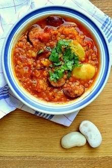 Jesienna zupa z grochem, ki...