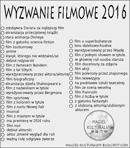 wyzwanie filmowe