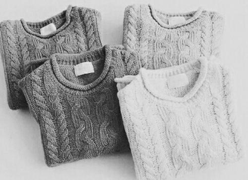 Sweterki na chłodną jesień i zimę :)