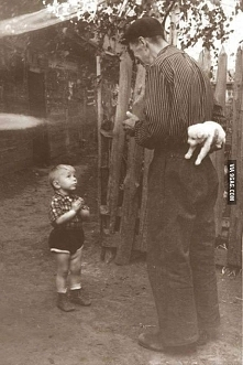 Few seconds before happiness.