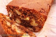 Ciasto bananowe z czekoladą - Wypieki Beat