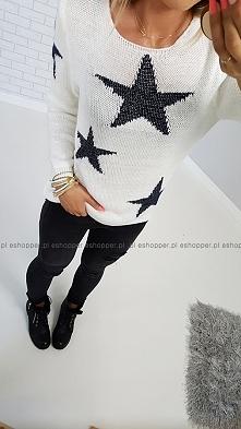 ZIMNO ? może sweterek w gwiazdy ? RUBY STARS WINTER LOOK