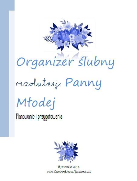 Organizer ślubny rezolutnej Panny Młodej pdf na zamówienie