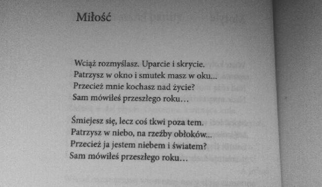 Wiersz Autorstwa Marii Pawlikowskiej Jasnorzewskiej Prosty