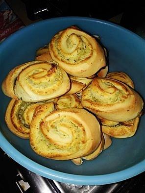 Ziołowo - czosnkowe ślimaczki :)