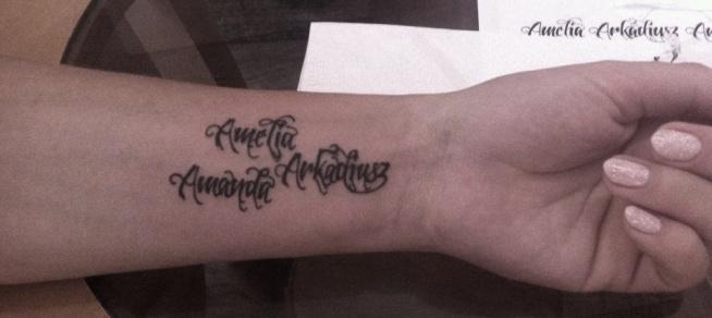 Imiona Dzieci Na Tattoo Zszywkapl