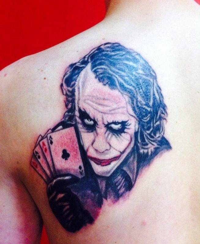 Tatuaż Joker Na Tattoo Zszywkapl