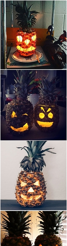 Jak się Wam podobają ananasowe ozdoby?;)