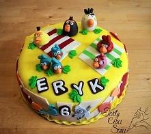 Były już ptaki w wersji tradycyjnej, teraz na Torty Cioci Soni wskoczyły w wersji wakacyjnej! Angry Birds RIO