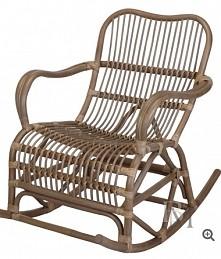 piękny, solidny bujany fotel