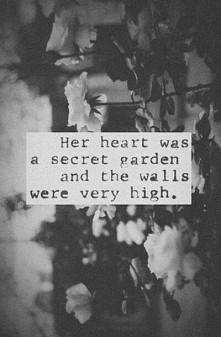 Her heart...