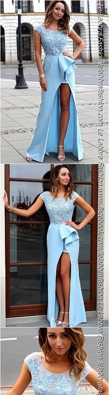 Le Labbra Fashion Kolekcja 2017 Model Magnolia długa suknia - nowoczesny look...