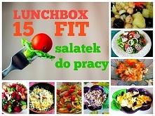 15 FIT sałatek do pracy Lunchbox