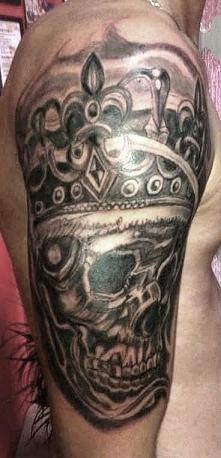 tatuaż czacha
