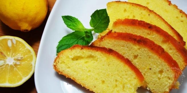 pyszne ciasto cytrynowe! przepis po kliknięciu w zdjęcie i na pinchofkitchen.pl