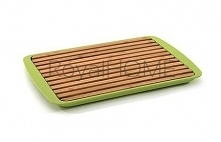 COOK Deska do krojenia pieczywa duża (zielona)