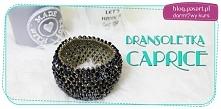 Piękna bransoletka Caprice - wprost idealna na prezent! Zrób ją sama i zaskocz najbliższe Ci osoby :).  Darmowy kurs DIY