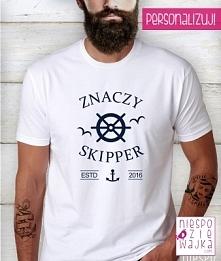 koszulka tshirt dla Skippera