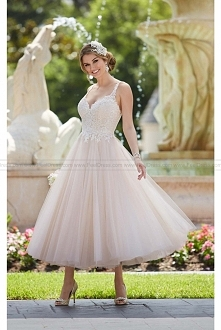 Stella York Short Wedding Dress Style 6226