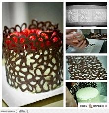 ozdoby z czekolady