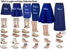 Jakie buty do jakiej spódnicy? :) zobacz sama:) a którą długość najbardziej lubisz? :)