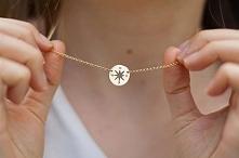 Przepiękny naszyjnik w kształcie Kompasu - Róży Wiatrów ze srebra 925 od Filigree.pl. Kliknij na zdjęcie aby przejść do sklepu! :)