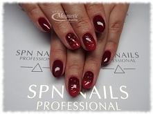 Lakier hybrydowy SPN Nails 645 Posh  Nails by Olga, Studio Magnetic Nails Monika Sokołowska Kielce