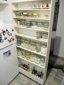 Spiżarka za lodówkę DIY