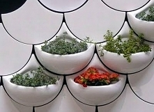 ••wall tile planters