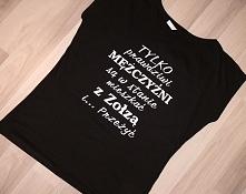 Koszulki z nadrukiem rozmia...