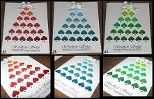 Kartki świąteczne w tonacji...