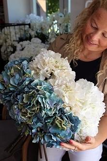 hortensje sztuczne od tenDOM to najwyższa jakość sztucznych kwiatów