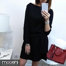 Bawełniana sukienka z falbanką- KLIK W ZDJĘCIE:)