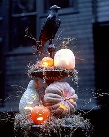 Dekoracje na Halloween - za...