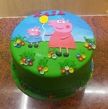 Świnka Peppa na czwarte urodzinki Kai