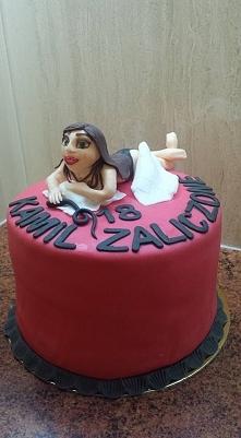 Tort na 18 urodziny Kamila