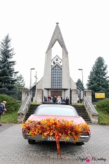 dekoracje pojazdów do ślubu - Perfect Wedding Zamość