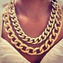 łańcuchy złote