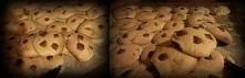Szklankę mąki i 1,5 łyżeczki proszku do pieczenia przesiać, dodać pół łyżeczk...
