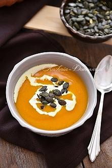 Zupa z dyni zawsze pojawia ...