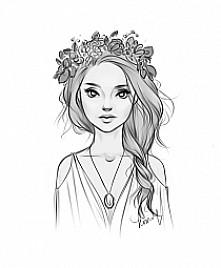 wiosenny portret