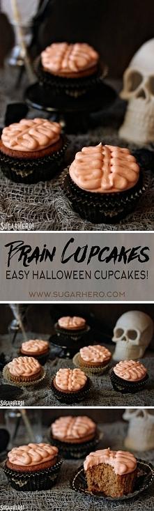Brain Cupcakes - SugarHero