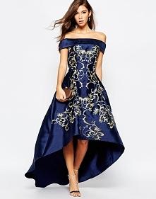 Wieczorowa sukienka na studniówkę i wesele granatowa