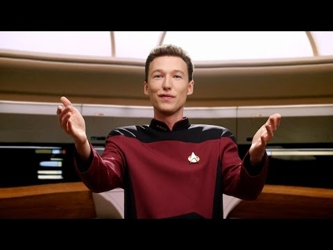 Data & Picard   Pogo