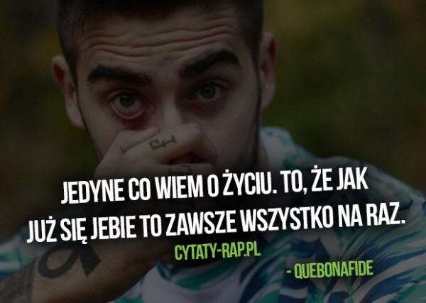 Quebonafide Na Cytaty Zszywkapl